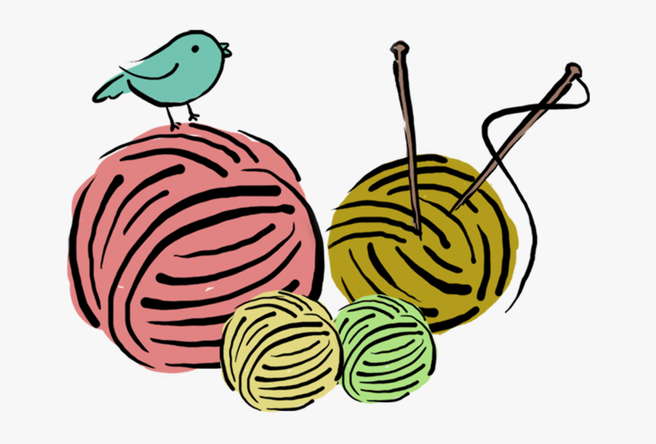 Crochet Clipart Handmade.