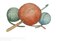 Free Crochet Clipart Images.