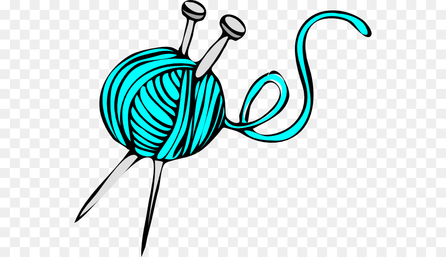 Crochet hook Knitting Yarn Clip art.