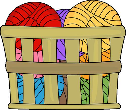 Basket of Yarn.
