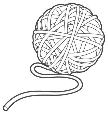 14,524 Yarn Cliparts, Stock Vector And Royalty Free Yarn Illustrations.