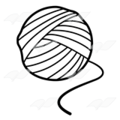 Collection of Yarn clipart.