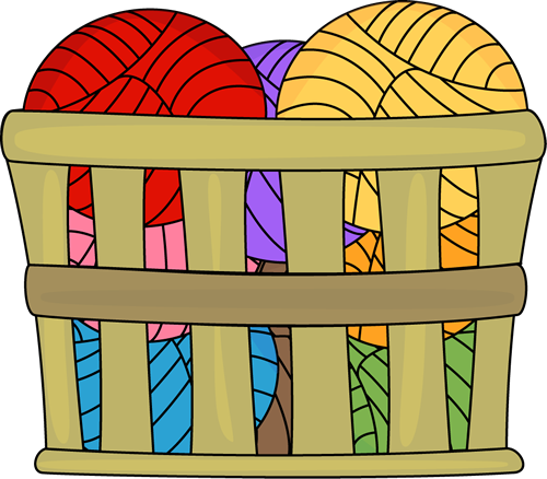 Basket of Yarn.