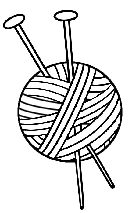847 Knitting free clipart.