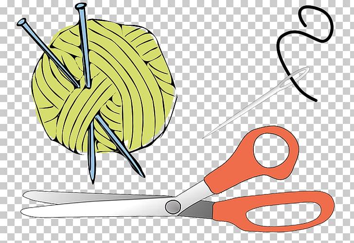 Knitting Yarn Crochet , bag PNG clipart.