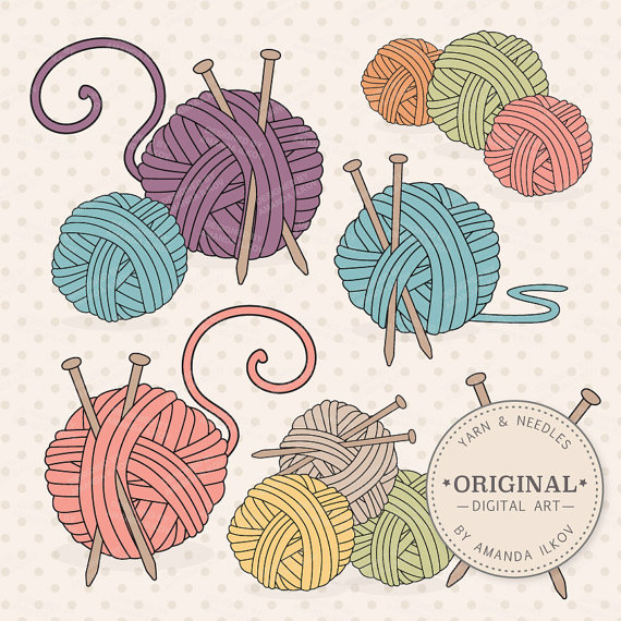 Premium Knitting Clipart & Vectors.