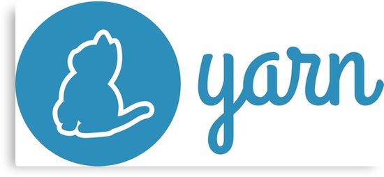 \'Yarn Logo\' Canvas Print by slumber86.