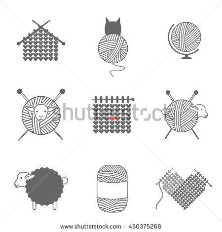 Yarn Vectores, imágenes y arte vectorial en stock.