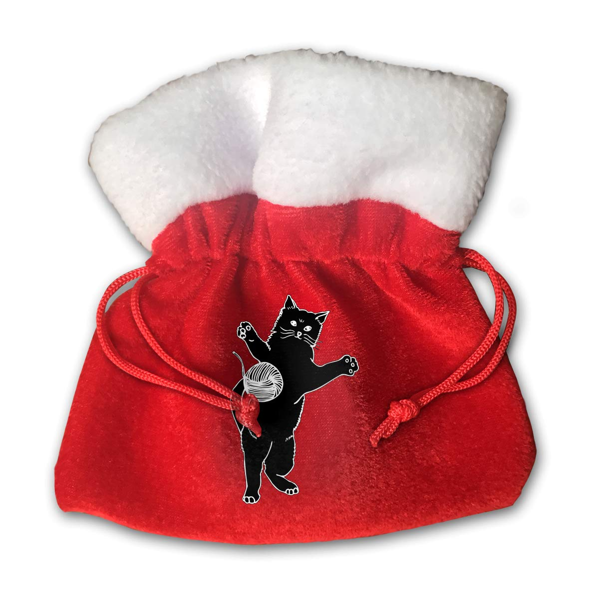 Amazon.com: MNBVCX Cat and Yarn Clipart Christmas Candy Bag.