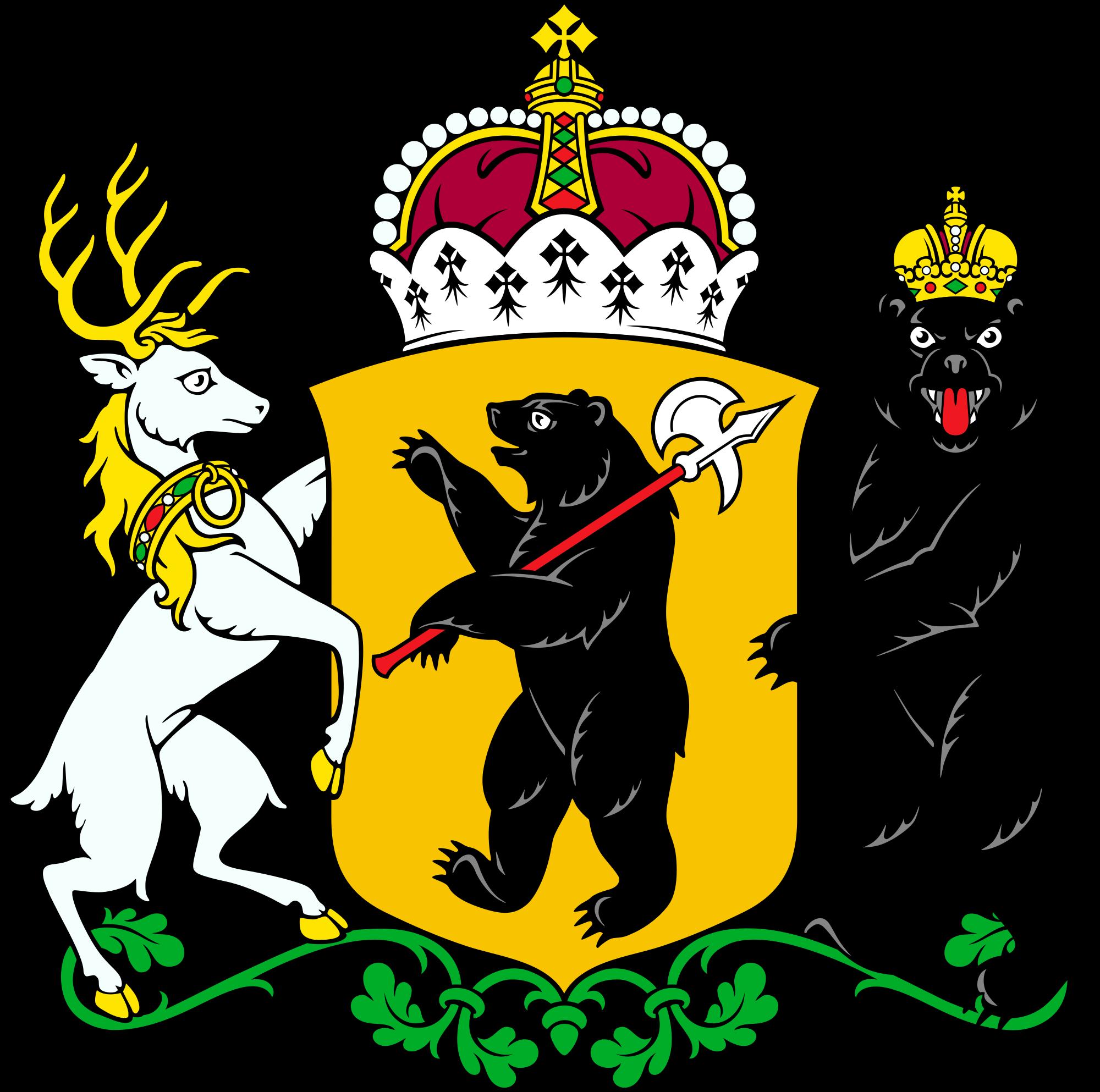 File:Coat of arms of Yaroslavl Oblast.svg.