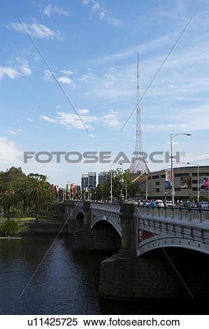 Stock Image of Yarra River, Melbourne, Australia u11425725.