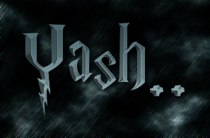 Yash.. logo. Free logo maker..