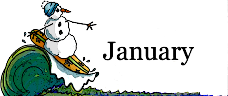 January Clipart.