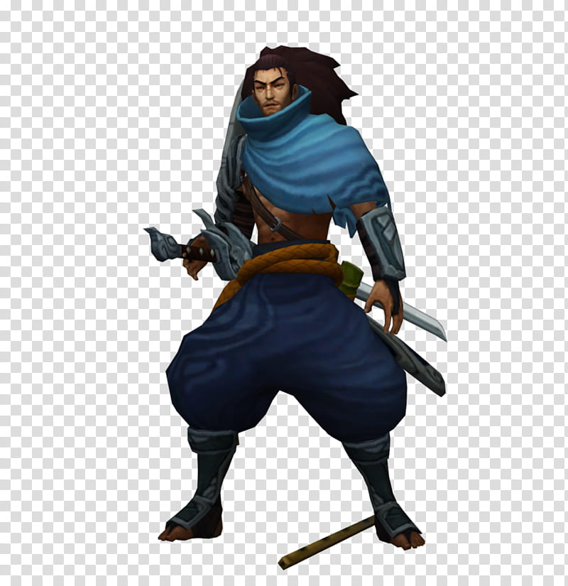Yasuo transparent background PNG cliparts free download.