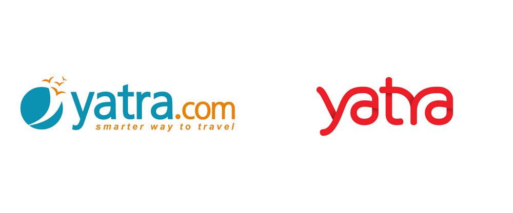 Brand New: New Logo for Yatra.