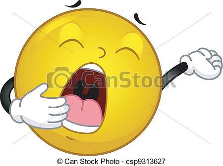 Yawn Clipart.