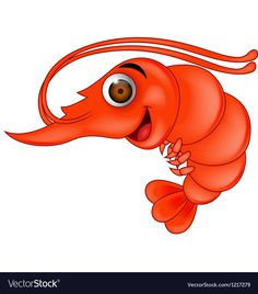 12 Best Shrimp cartoon images.