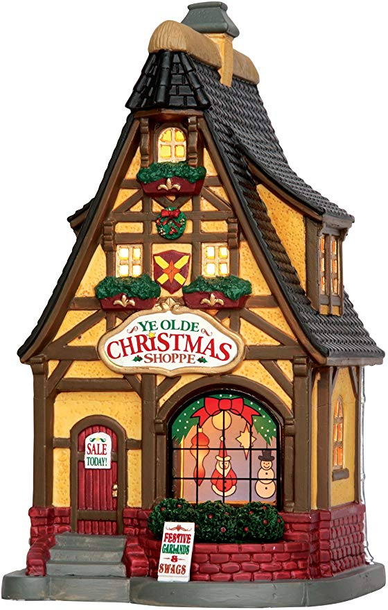 Lemax Village Collection Ye Olde Christmas Shoppe #55902.