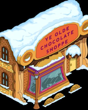 Chocolate Shoppe.
