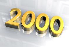 2000 Clipart by Megapixl.