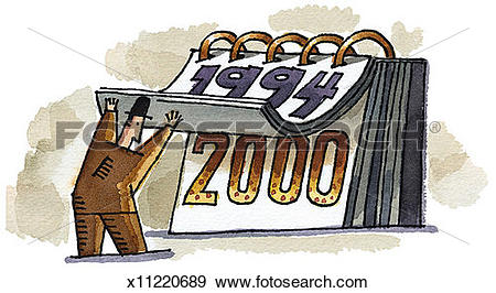 Stock Illustration of Year 2000 x11220689.