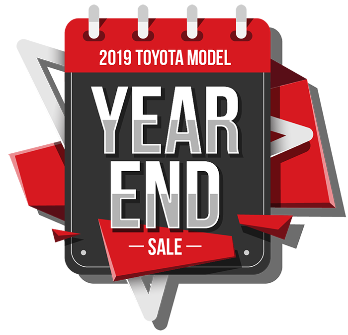 2019 Toyota Model Year End Sale.