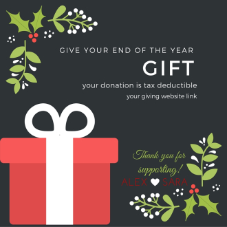 End of Year Giving.