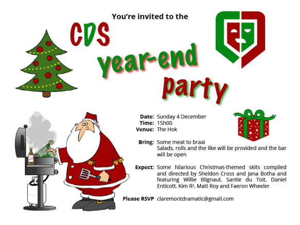 INVITATION: CDS year.