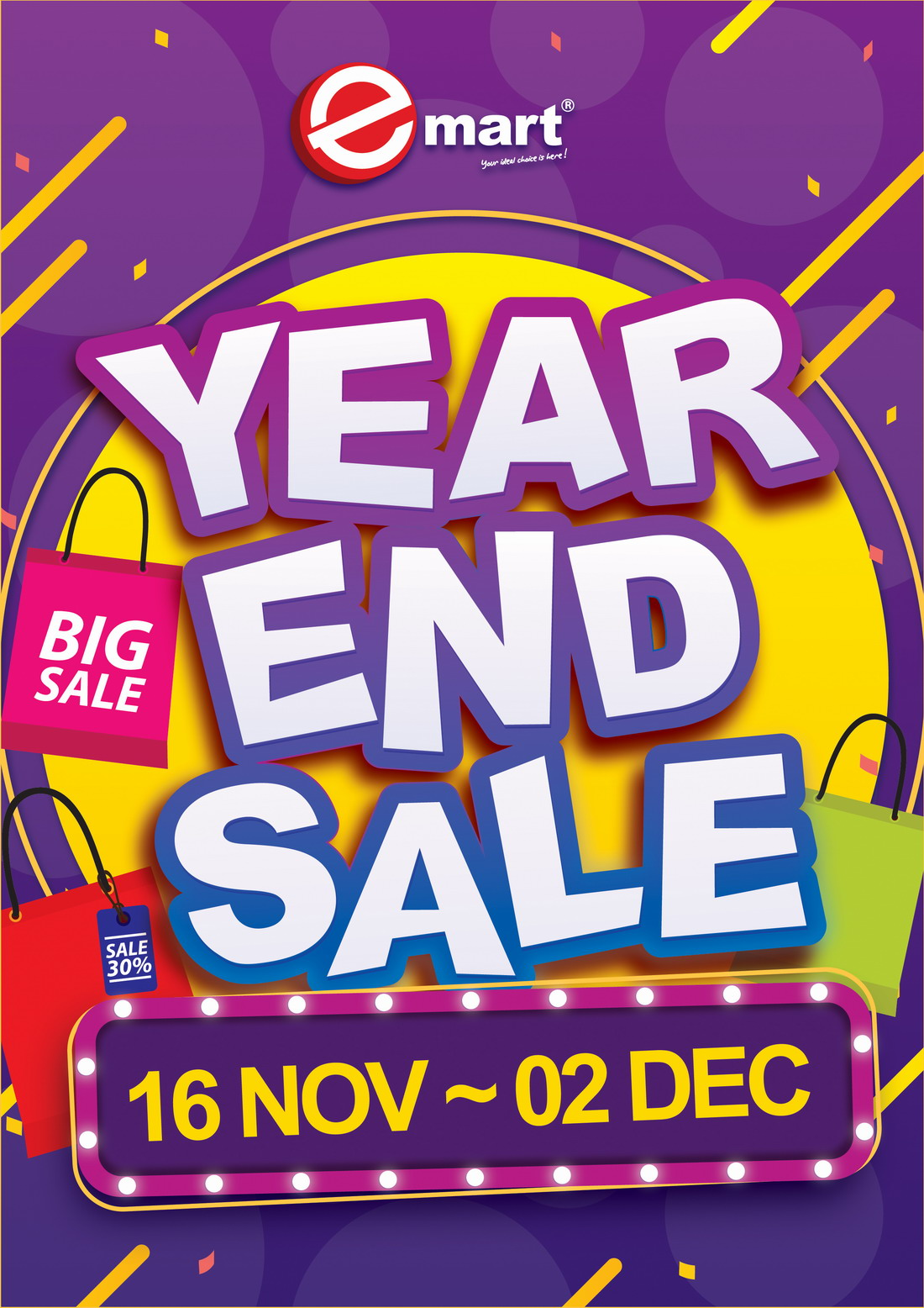 Year End Sale.