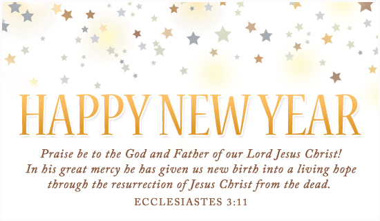 religious happy new year clipart
