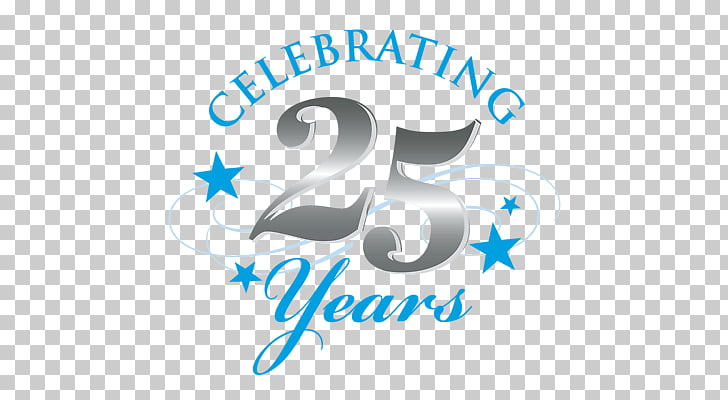 Silver Jubilee Celebrations, Celebrating 25 Years PNG.