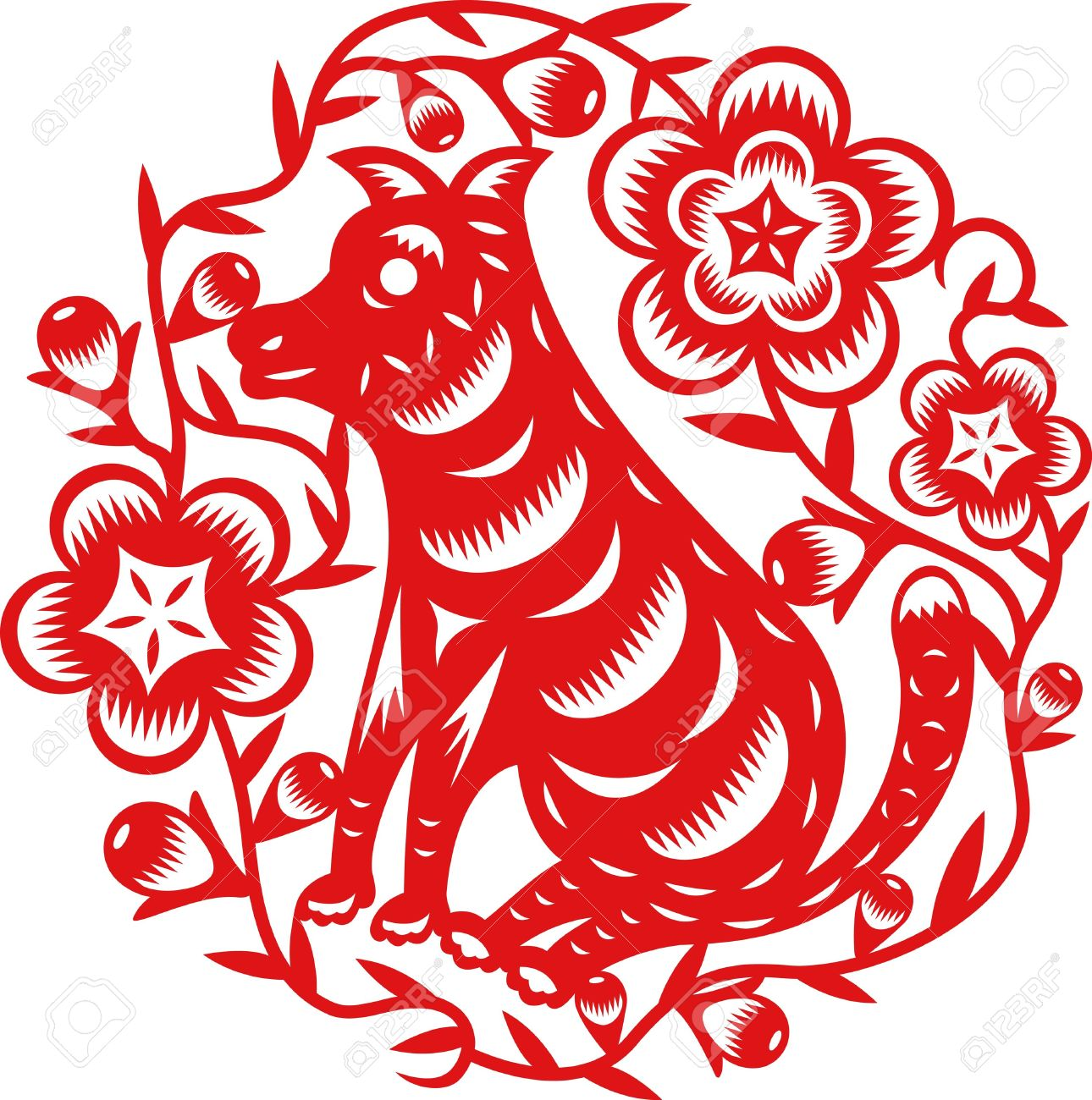 Year Of The Dog Free Clipart.