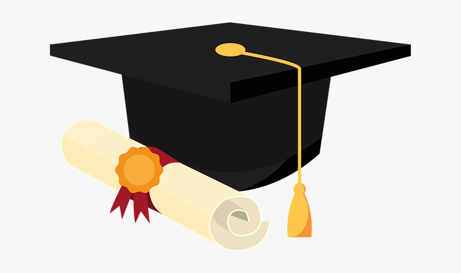 Graduation, Cap And Scroll, University Grad, University.