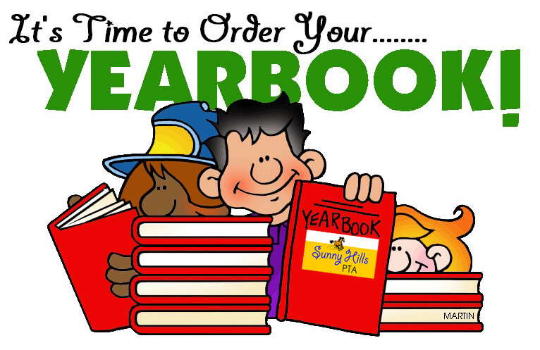 Yearbook Sale Clipart.
