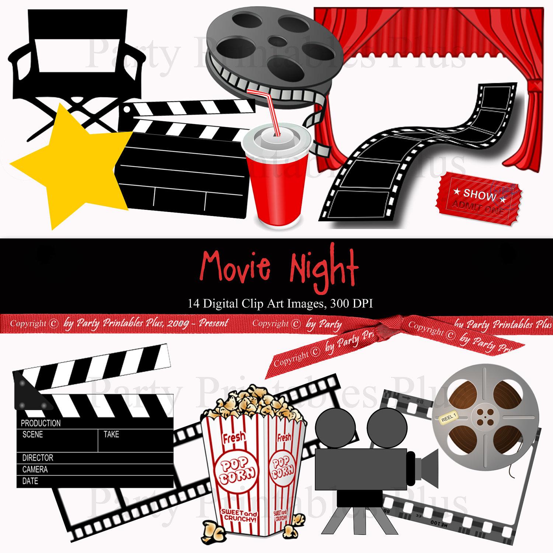 Movie Theme Clipart.