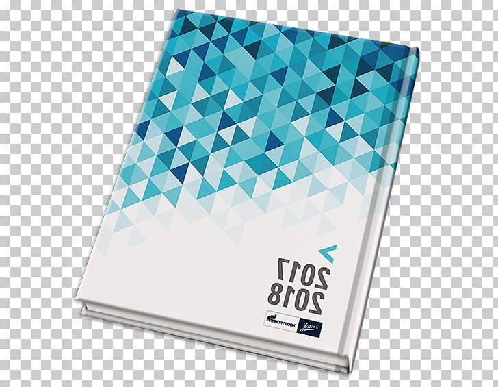 Yearbook School Book cover, geometric cover PNG clipart.