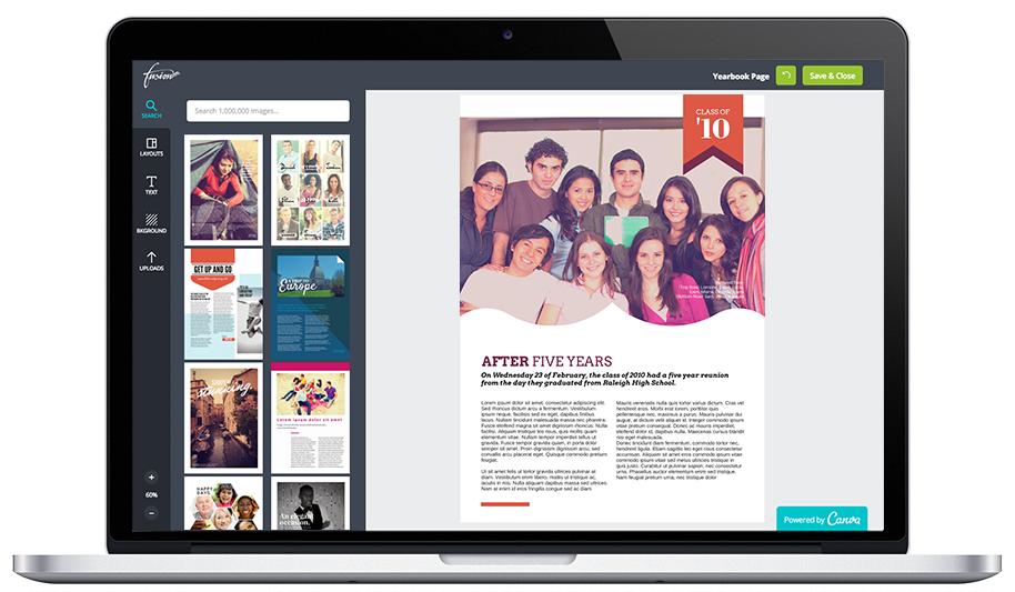 Create Professional Looking Alumni Yearbooks.