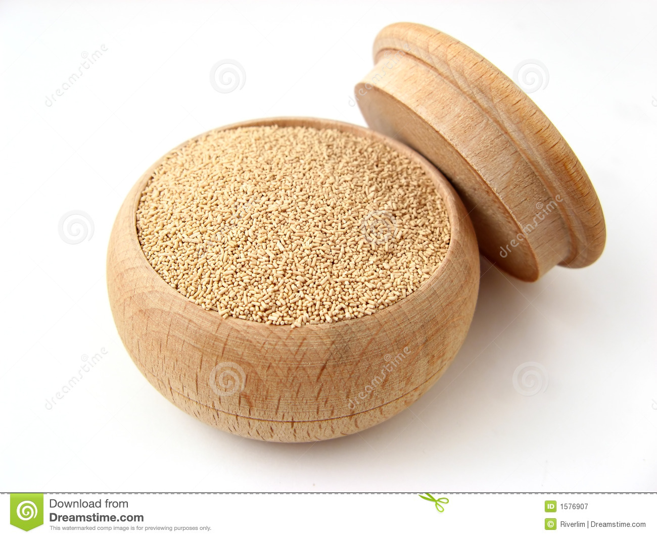 Beer Yeast Royalty Free Stock Photography.