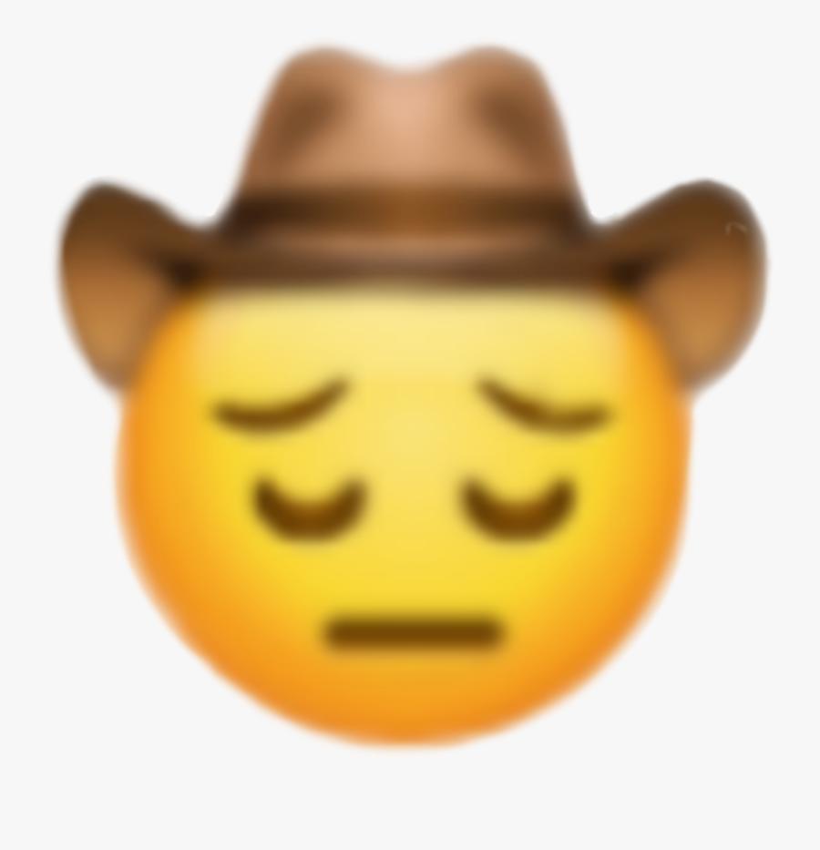 sad #yeehaw #yeeyee #yee #haw #emoji.