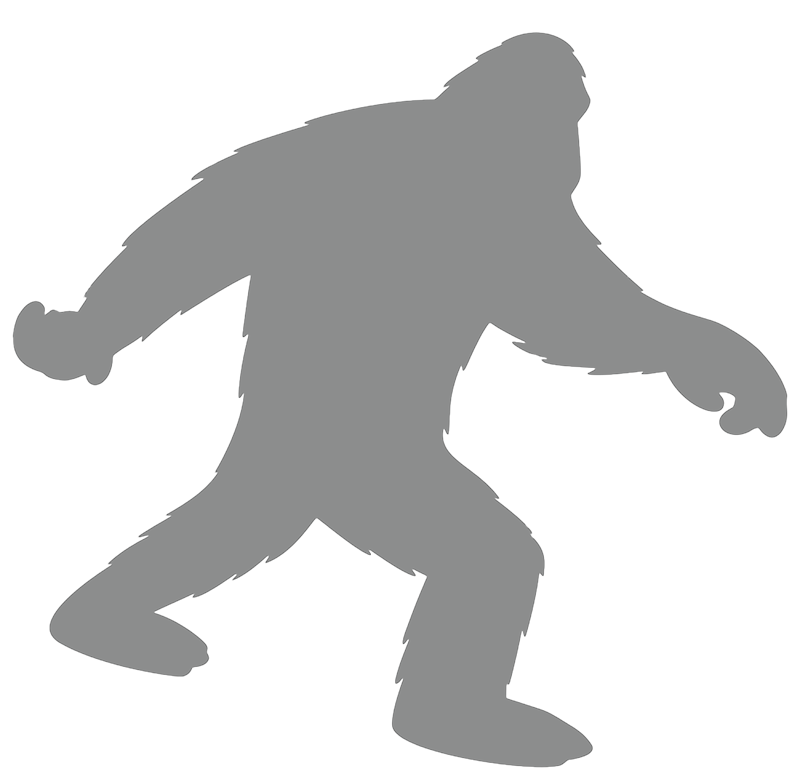 Bigfoot Vector graphics Clip art Yeti Silhouette.