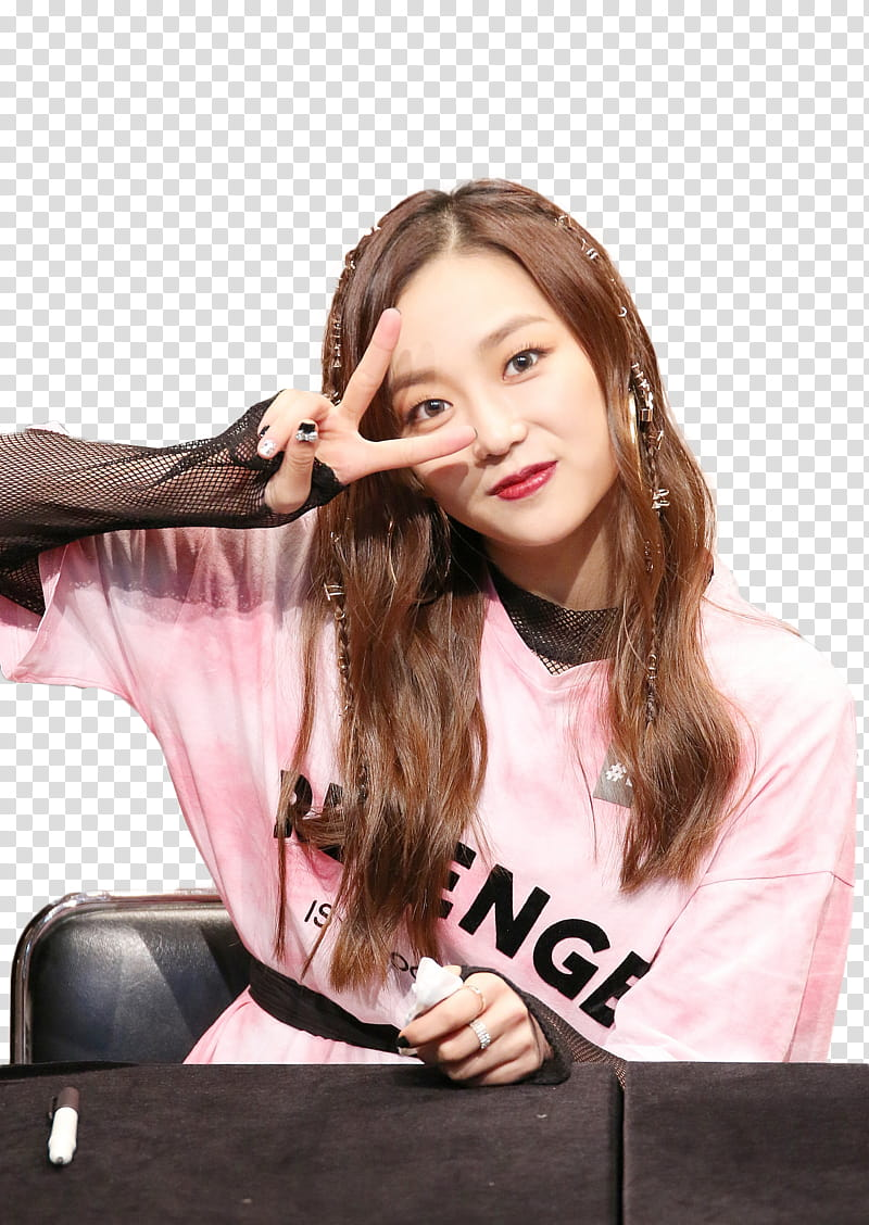Render HQ CLC Yeeun transparent background PNG clipart.