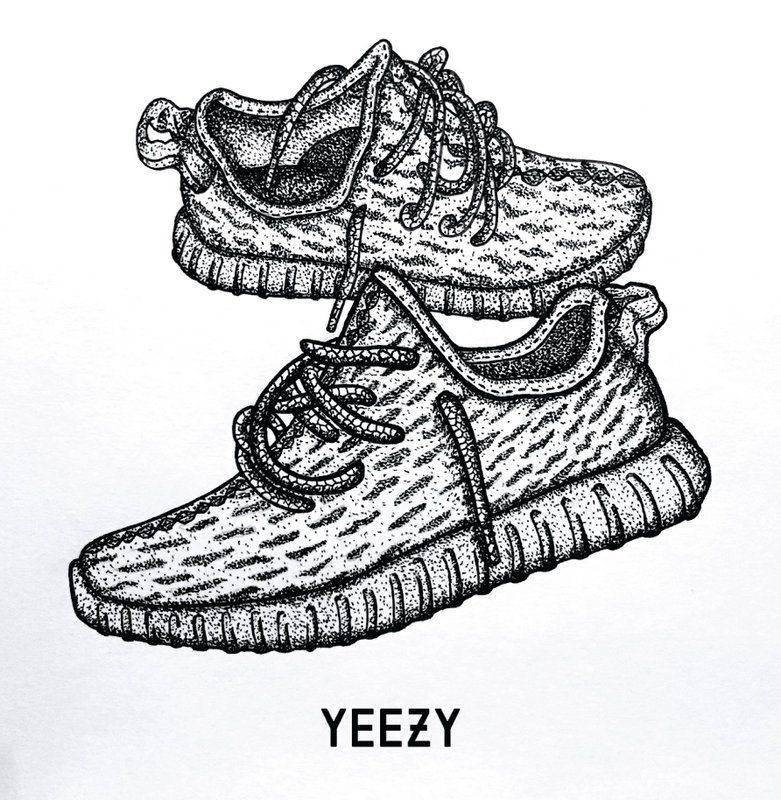 Adidas Yeezy Boost 350 in 2019.