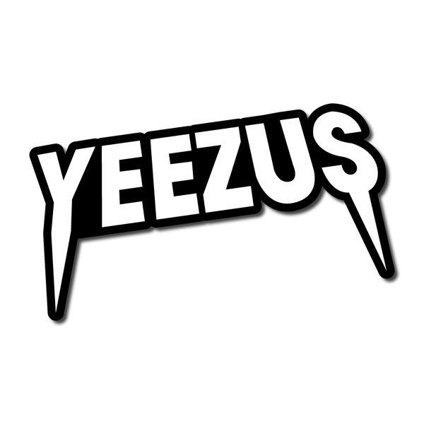 Details about Yeezus Sticker / Decal.