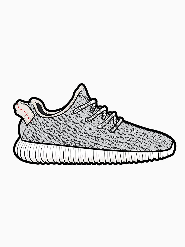 yeezy boost drawing,.