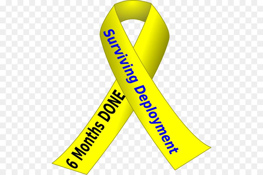 Yellow Ribbon clipart.