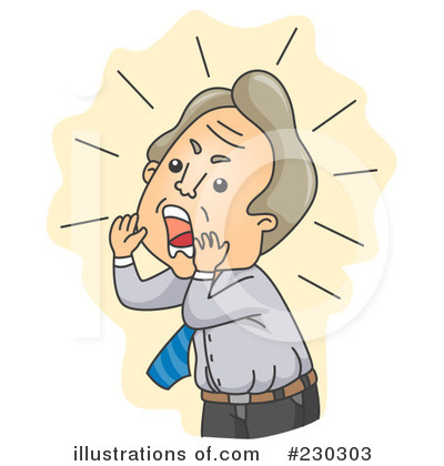 Yelling Clipart #230303.