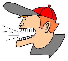 Yell Clipart.