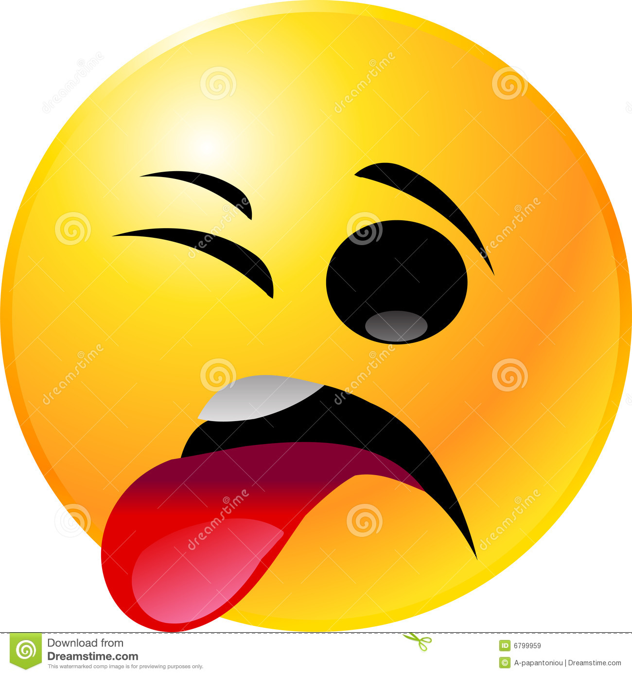 Shocked Smiley Face Clipart.
