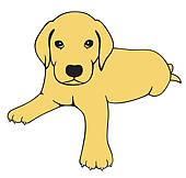 Free Yellow Labrador Cliparts, Download Free Clip Art, Free.