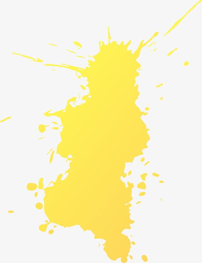 Abstract Yellow Splash PNG, Clipart, Abstract, Abstract.